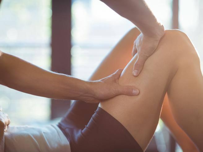 dolore bruciante allinguine interno della coscia femminile