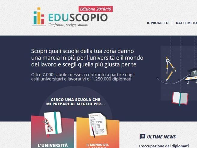 Eduscopio 2018  la classifica delle scuole superiori migliori della tua  città - Corriere.it 67c9bec6bb7e