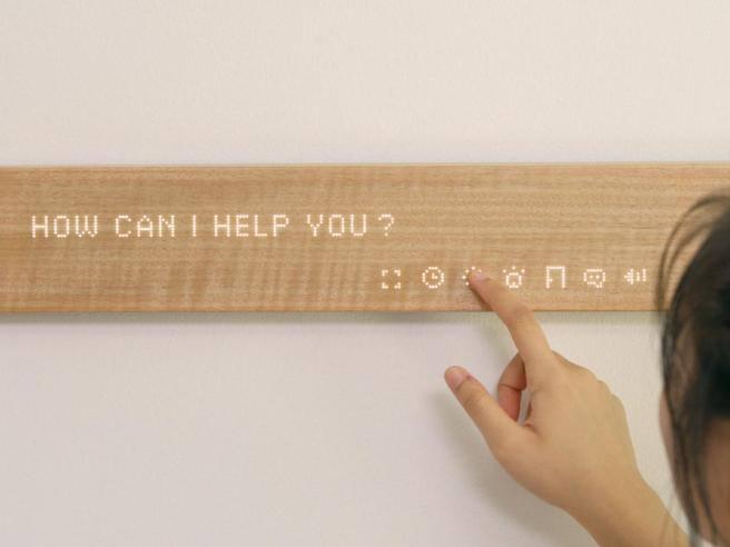 Mui la barretta di legno che controlla la smart home e si for Corriere arredamento
