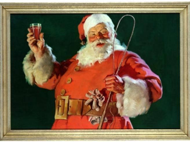 Il Vestito Nuovo Di Babbo Natale.Babbo Natale Non E Stata Coca Cola A Inventare Il Suo Vestito Rosso Corriere It