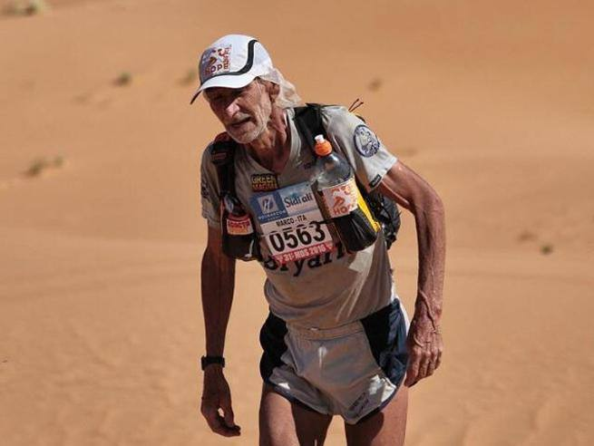 Il Maratoneta Calendario.Marco Olmo Il Maratoneta Del Deserto Corriere It
