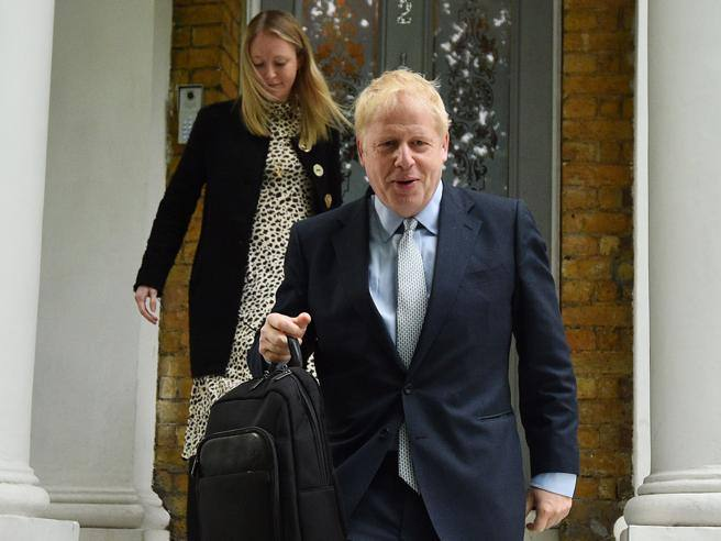 Carrie The Girlfriend Who Turned Boris Johnson And Reproaches Him