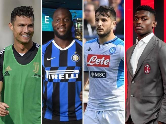 Le magnifiche 4 di serie A: Juventus, Inter, Napoli e Milan