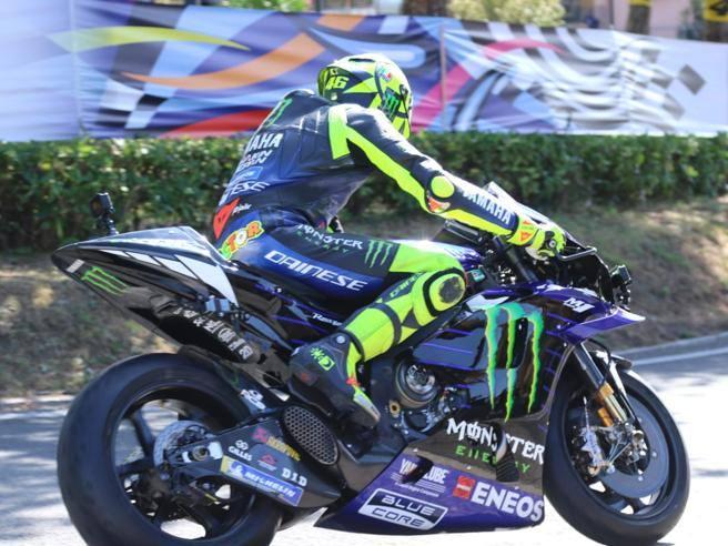 MotoGp: Valentino Rossi parte dal Ranch per andare a provare il «circuito di casa» a Misano