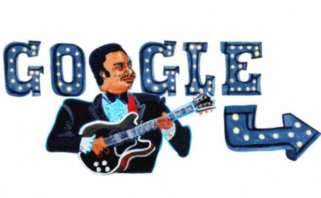 BB King celebrato da Google nel doodle, ecco chi era il re del Blues