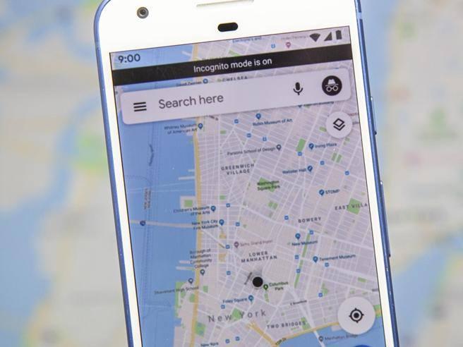 Google Maps: navigazione in «incognito» per non lasciare traccia ...