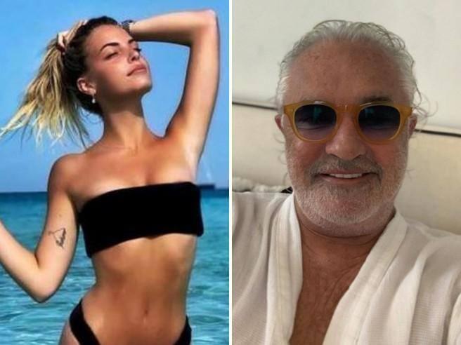 Benedetta Bosi e il flirt con Briatore: «I soldi li hanno in tanti, l'intelligenza (che non invecchia) no»