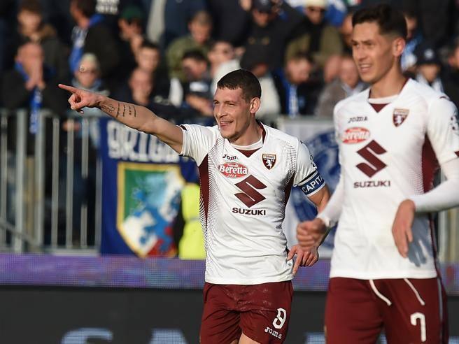 Brescia-Torino 0-4: doppiette di Belotti e Berenguer e i granata ...