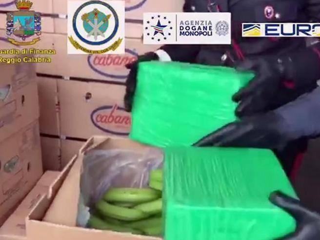 Gioia Tauro, sequestro di cocaina: oltre mille chili nascosti - Corriere della Sera
