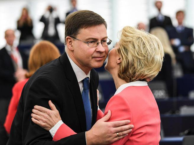 Dombrovskis: «Esm, I did not expect this reaction from Italy at such a late stage»