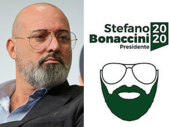 Bonaccini in piazza senza maglia pd Emilia-Romagna, regione dai 2 volti