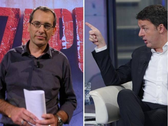 Formigli a Renzi: «Le foto della mia casa in rete? Squadrismo»