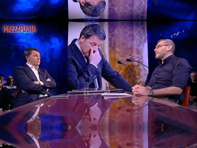Casa Formigli, Renzi attacca: «Privacy invocata solo per gli amici»