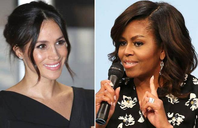 La consigliera segreta di Meghan? Michelle Obama