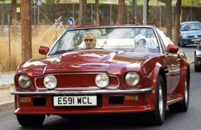 In vendita l'Aston Martin di Beckham