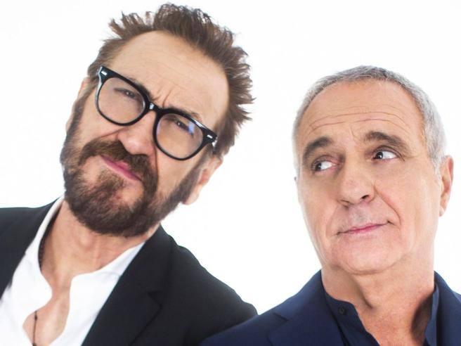 Giorgio Panariello e Marco Giallini: «Siamo in tv con un sit-show»