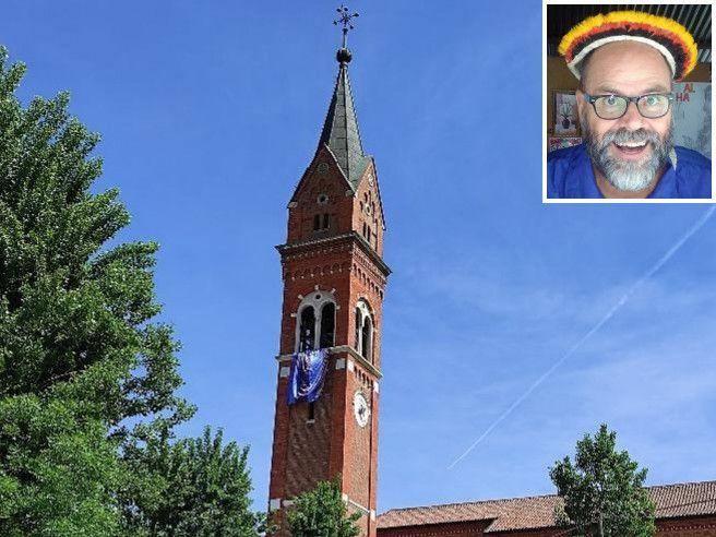 Don Giampaolo, il parroco interista: sul campanile sventola la bandiera nerazzurra
