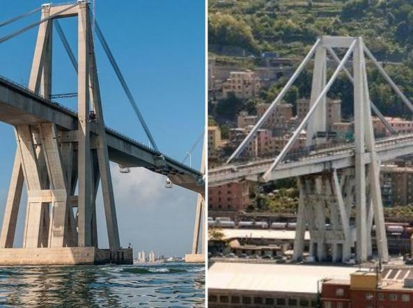 Ponte morandi il gemello crollato in venezuela e le for Disegni di ponte a 2 livelli