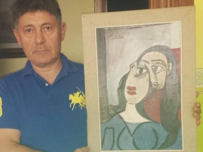 Il sogno di una vita del rigattiere: «Ho un Picasso, lo dimostrerò»