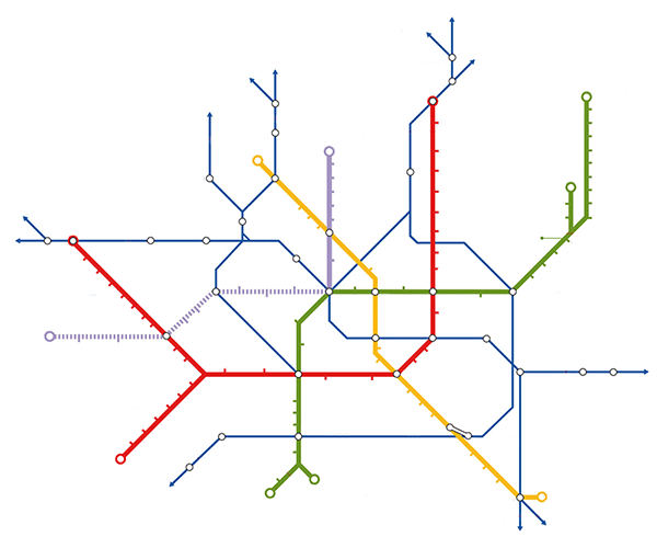 Quiz: ecco 14 mappe di metrò Sapete dire dove siamo? - Corriere.it