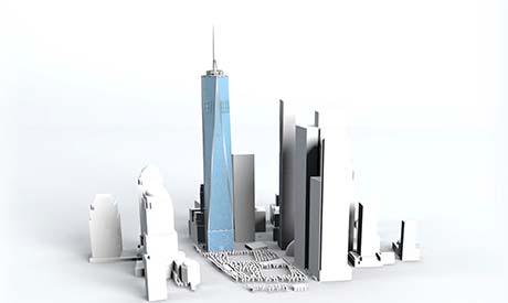 La Freedom Tower e il memoriale