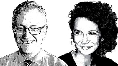 Maurizio Ferrera e Barbara Stefanelli